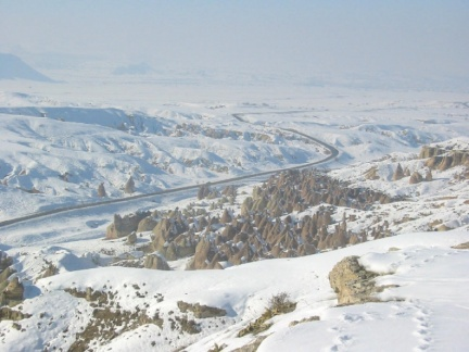 Devrent Valley in winter